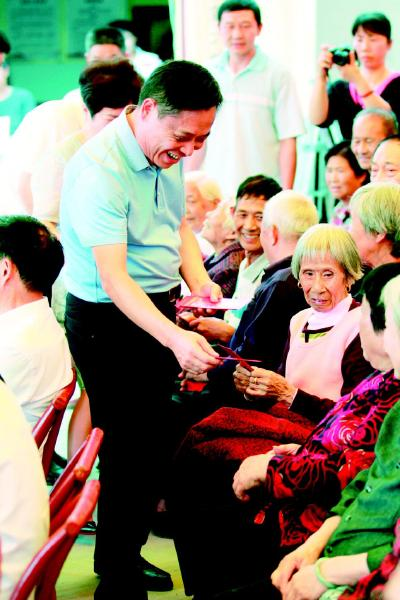 浏阳湾里屋场自建孝亲敬老基金会,30余名热心村民自发加入